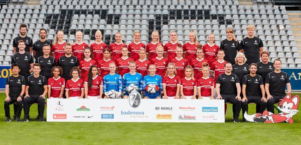Bundeslia-Team des SC Freiburg für die Spielzeit 2021/22